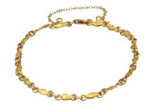 Small Nugget Chain Bracelet