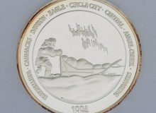 Yukon Quest 1994 Medallion
