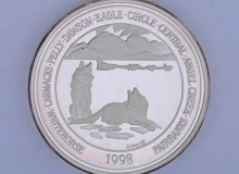 Yukon Quest 1998 Medallion