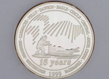 Yukon Quest 1999 Medallion