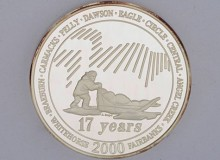 Yukon Quest 2000 Medallion
