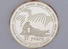 Yukon Quest 2000 Medallion